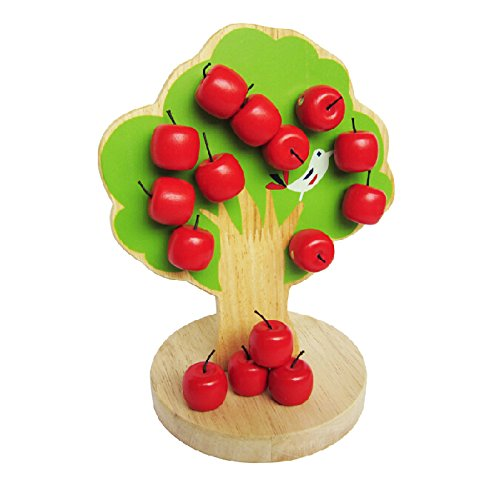 greencherry baby cute magnetic apple tree train babys