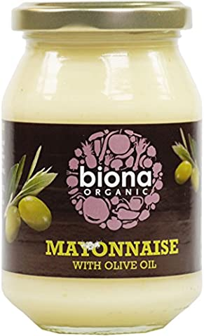 Biona Organic - Mayonnaise with Olive Oil - 230g - Ingredients In Mayonnaise