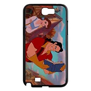 Samsung Galaxy Note 2 N7100 Phone Case Black Beauty and the Beast Gaston BU3064247