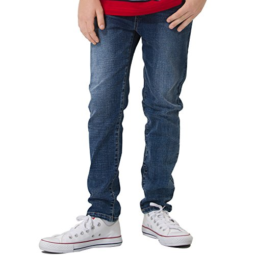 Boys Dark Blue Denim Jeans - 9