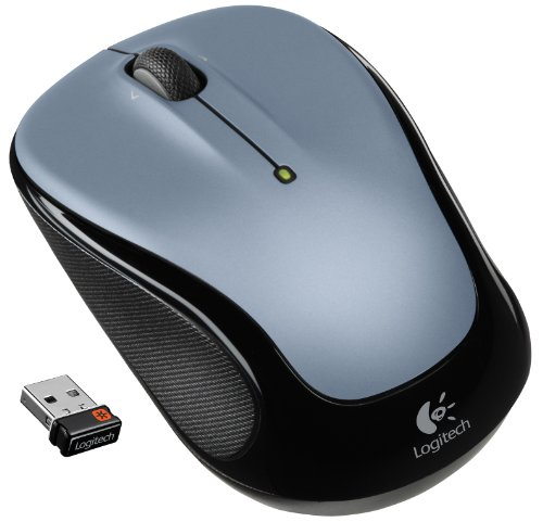 Logitech Wireless Mouse M325 with Designed-For-Web Scrolling - Light Silver - Adorama Digital Remote
