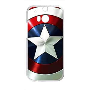 YESGG Captain America Cell Phone Case for HTC One M8