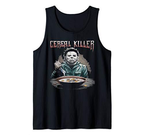 Funny Cereal Killer True Crime Serial Killer Novelty Gift Tank Top ()