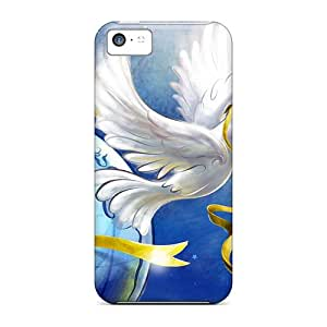 Perfect Fit TlI466LaQC Turtle Doves Christmas Case For Iphone - 5c