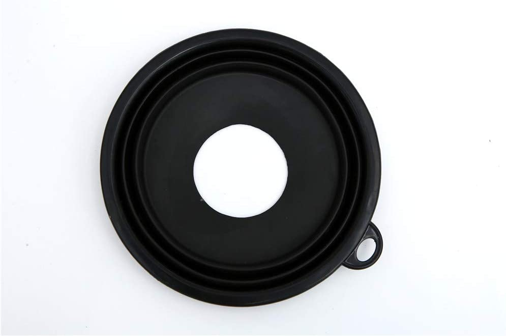 Ultimate Lens Hood Black Silicone Cone That extends Over Any Lens, Blocking Unnecessary Glare and Emission