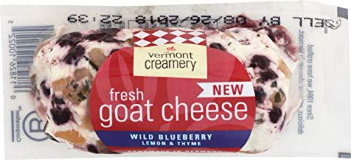 VERMONT CREAMERY Wild Blueberry Lemon & Thyme Goat Cheese, 4 OZ