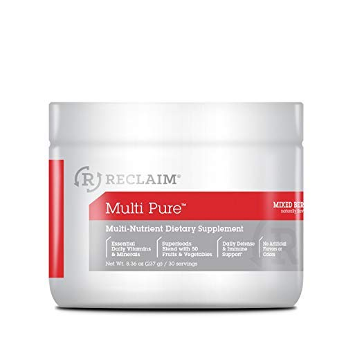 Complete Nutrition Reclaim Multi Pure, Mixed Berry, Vitamin & Mineral Supplement, Digestive & Immune Support, 30 Servings Review