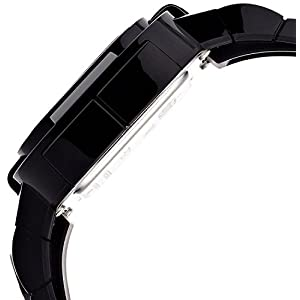 o.d.m watch PLAY digital display 5 ATM water resistant black PP002-01 Men's [regular imported goods]