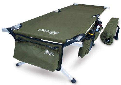 Earth Jamboree Military Style Aluminum Cot, Outdoor Stuffs