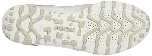 Sneakers White a White Low D Freccia Off Geox Whitec1209 Women's Top AYw1H