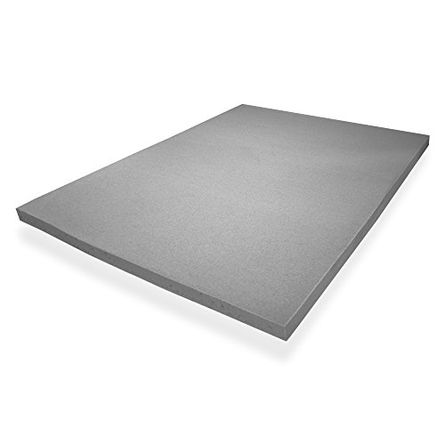 Ayer Comfort Short Queen RV Mattress Topper with Graphite-Gel infused Memory Foam - Graphite Memory