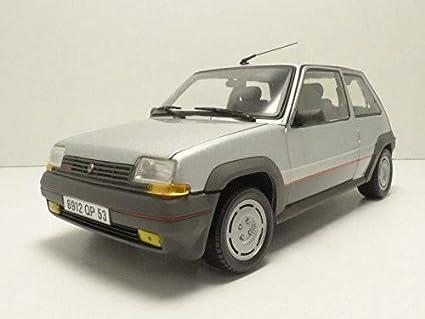 Norev NV185209 1: 18 Renault Supercinq GT Turbo 1985 – Plata
