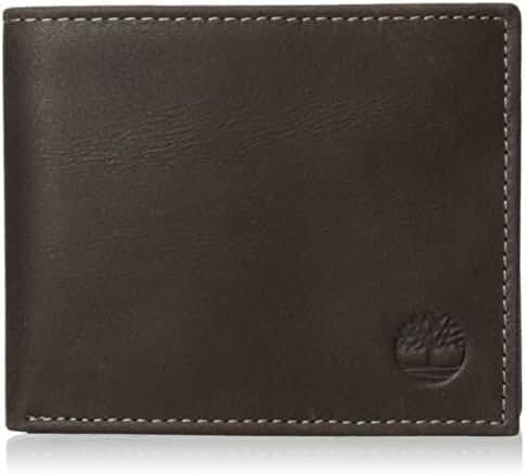 Timberland Men's Cloudy Passcase Wallet