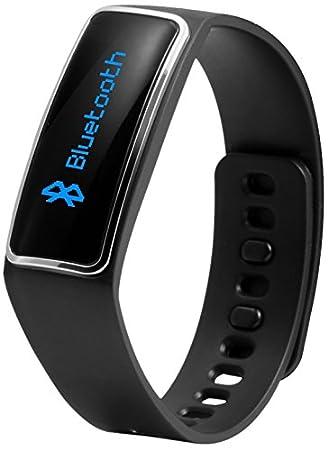 Technaxx TX-39 - relojes inteligentes (Plaza, Litio, Negro, Negro, Micro-USB, Resistente a rayones, Resistente a golpes): Amazon.es: Deportes y aire libre