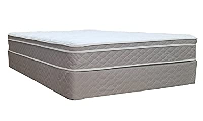 """Spinal Solution 9"""" Pillowtop Fully Assembled Orthopedic Mattress and Box Spring"""