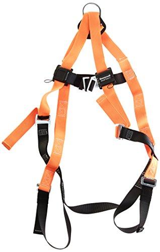 (Miller Titan by Honeywell TF4000/XXLAK Polyester T-Flex Stretchable Harness, XX-Large)