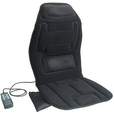 NEW Relaxzen Massage Cushion Chair Heat Neck Back Lumbar ...