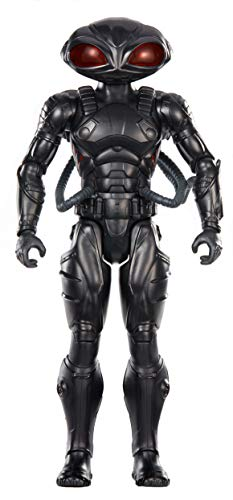 AQUAMAN TRUE-MOVES BLACK MANTA Figure