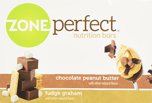 ZonePerfect Nutrition Bars, Fudge Graham/Chocolate Peanut Butter Combo. 1.76 OZ, 24 Bars by Zone Perfect (Image #6)