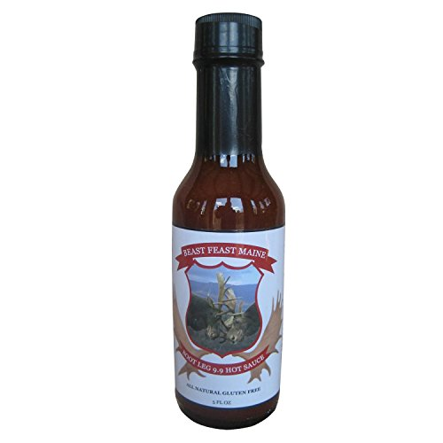 [Bootleg 9.9 Hot Sauce | All Natural Handcrafted Spicy Sauce | Made with Organic Blue Agave, Chipotle and other Spices (5 oz)] (Frank's Red Hot Costume)