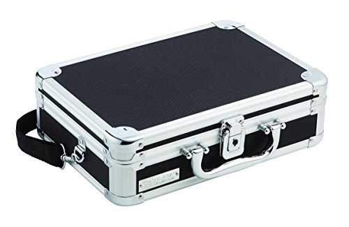 Vaultz Locking DVD Player Case 11.875 x 8.875 x 3.625 Inches, Black (VZ01264)