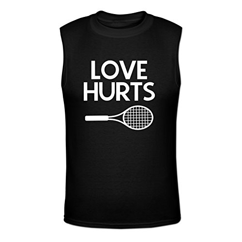 Price comparison product image Love hurts tennis Muscular Men M Black
