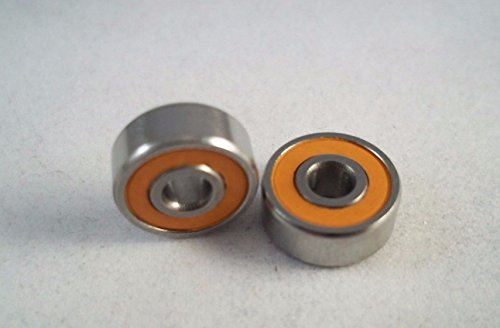 HP Reel Bearings Orange Seal Ceramic Hybrid Bearings ABEC 7 3x10x4