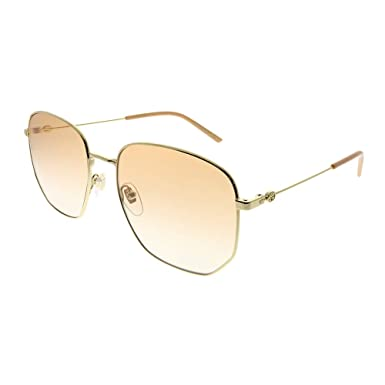 93eb7474b2 Gucci GG0396S 003 Gold GG0396S Cats Eyes Sunglasses Lens Category 1 Size  54mm