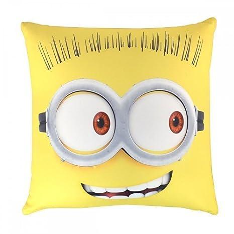 Amazon.com: Minions Despicable Me Square Minion Cojín: Home ...