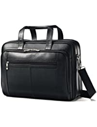 Leather Checkpoint Friendly Case, Black