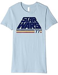 Classic Retro Logo Striped '77 Premium T-Shirt