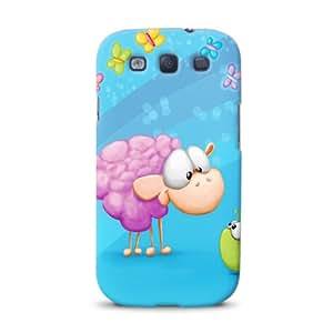 Diabloskinz D0079-0028-0003 - Carcasa para Samsung Galaxy S3, diseño de oveja rosa