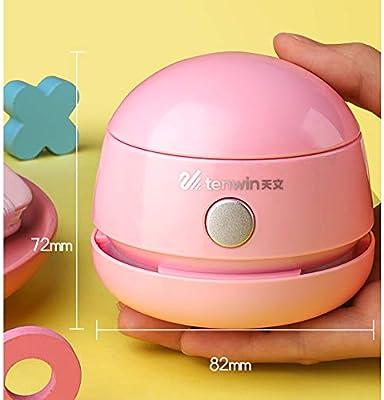 QWERTU Aspirador de Escritorio portátil Mini Cocina del hogar Mini Pan miga aspiradora de Coche Oficina de Escritorio de la computadora Limpiador de colector de Polvo: Amazon.es: Hogar