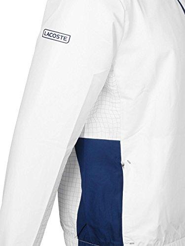 Blanc Pour Bleu Homme Survêtement Lacoste P7x5twqg