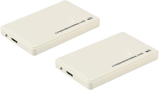 KESOTO 外付ハードディスクドライブ 1T + 2T USB3.0 SATA HDDエンクロージャー MacBook Xbox 360用 2個セット