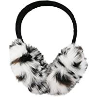 J. Ann Fashion Animal Printed Earmuffs in Faux Fur & Soft Polyester