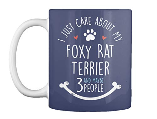 Cute foxy rat terrier dog lovers gift for. 11oz - Dk navy Mug - Teespring Mug