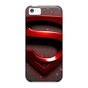 Iphone 5c OFc13041Zhio Support Personal Customs Trendy Superman Skin Shock Absorbent Hard Cell-phone Cases -JasonPelletier