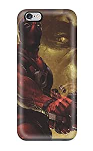 Top Quality Case Cover For Iphone 6 Plus Case With Nice Deadpool Appearance