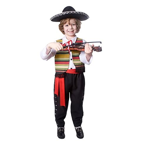 Mexican Mariachi- Small 4-6 (Mariachi Kostüm Boy)