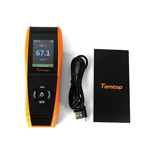 Temtop LKC-1000E Air Quality Detector Professional Monitor with PM2