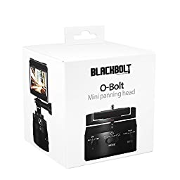 Motorized Panning Head Gopro Action Cam Timelapse Variable Speeds and Built-in Rechargeable Battery Blackbolt O-bolt 360 Degree Rotator