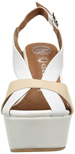 White Donna Zoccoli Jeffrey Mariel Nude Sabot Leather Campbell e Yx0AxRt