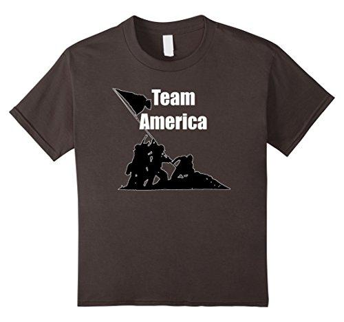 Kids Team America T Shirt: New Cool American Pride T-Shirt 12 - Team Shirt T America
