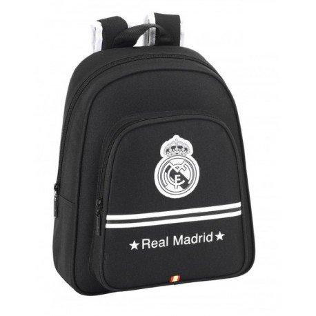 Mochila Real Madrid Infantil, adaptable a carro. Medidas: 34x28x12 cms. Con bolsillo exterior.: Amazon.es: Zapatos y complementos