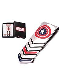 Marvel Comics Captain America Shield Stainless Steel Money Clip