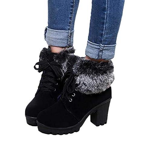 Amazon.com: kaifongfu Women Snow Boots Resistant Slip Warm Boots Shoes Resistant Ladies: Clothing