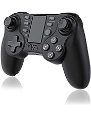 TUTUO Mando para PS4, Wireless Controller de Juego Inalámbrico Bluetooth Joypad Distancia Joystick Gamepad Controledor de Doble vibración Compatibile con PS4/PS4 Slim/ PS4 Pro/PS3