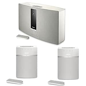 bose soundtouch 30 series iii wireless music system with remote control white. Black Bedroom Furniture Sets. Home Design Ideas