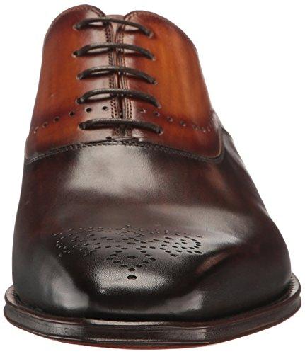 Magnanni Men's Preston Oxford, Brown/Cuero, 10 M US